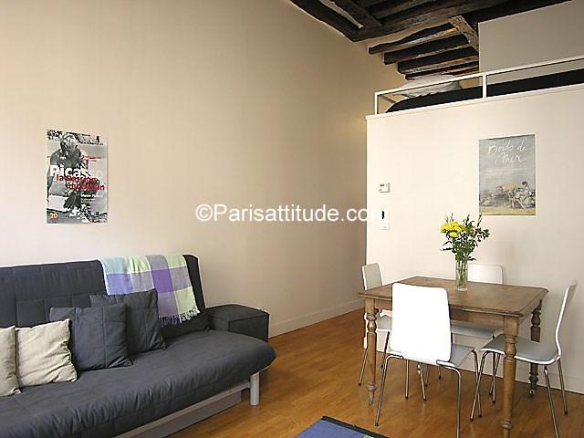 Rent Apartment Studio 25m² rue du Sentier, 75002 Paris