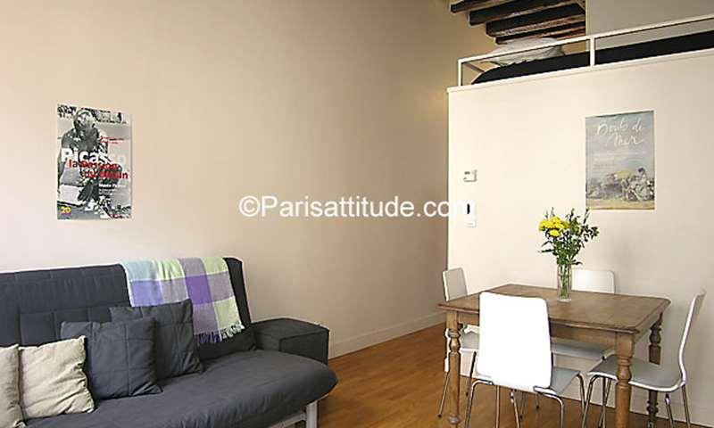 Rent Apartment Studio 25m² rue du Sentier, 2 Paris