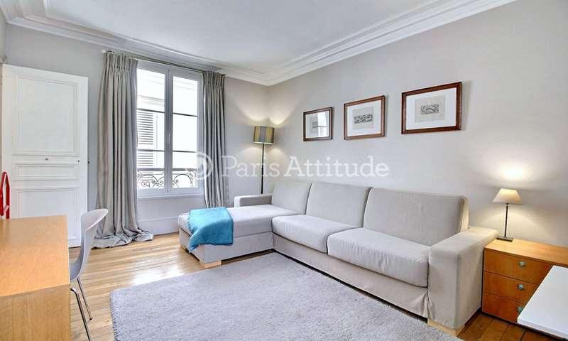 Rent Apartment Studio 30m² rue de l eglise, 92200 Neuilly sur Seine