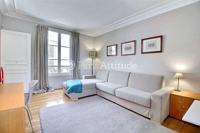 Rent furnished Apartment Studio 30m² rue de l eglise, 92200 Neuilly sur Seine