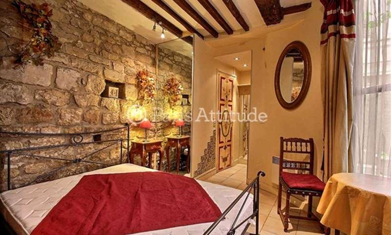 Rent Apartment Studio 15m² rue Bude, 4 Paris