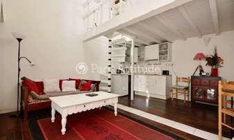 Rent Duplex 1 Bedroom 31m² rue Du Couedic, 14 Paris