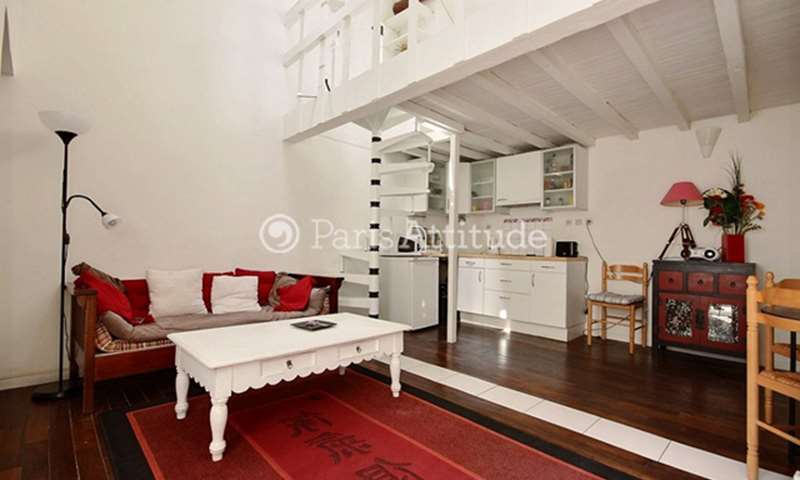 Location Duplex 1 Chambre 31m² rue Du Couedic, 14 Paris