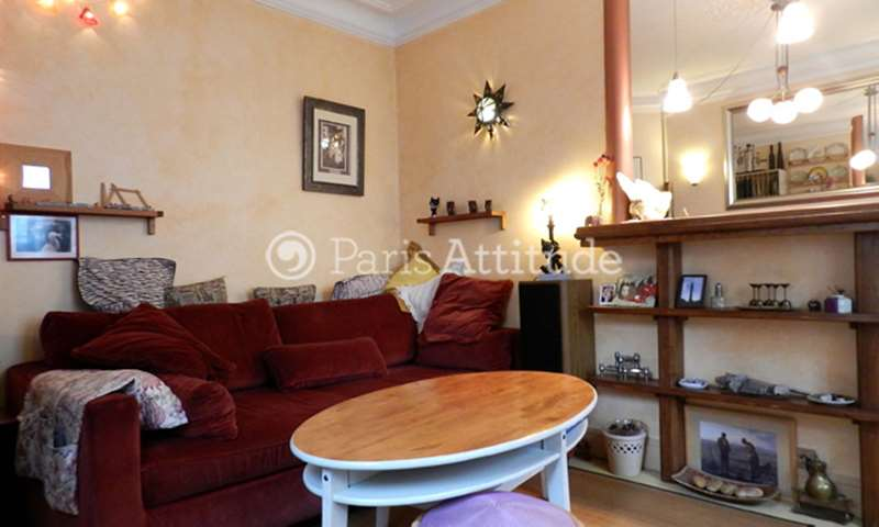 Rent Apartment 2 Bedrooms 75m² rue Constance, 75018 Paris