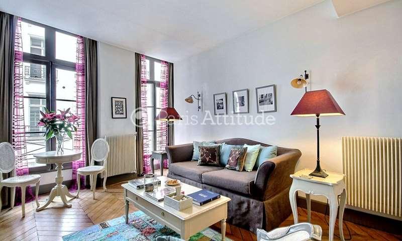 Rent Apartment 1 Bedroom 42m² rue de Clery, 2 Paris