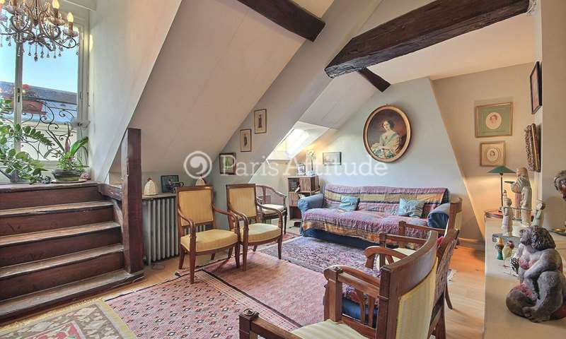 Rent Duplex 3 Bedrooms 140m² quai de Bourbon, 4 Paris