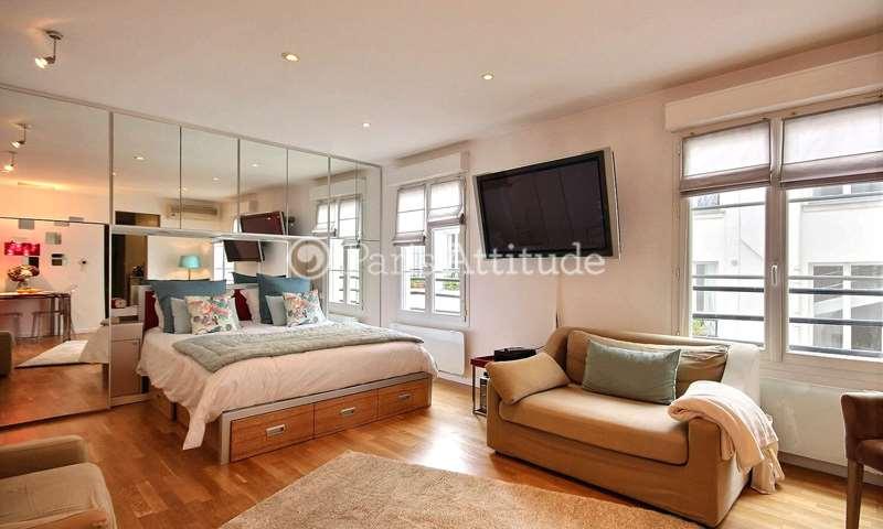 Rent Apartment Studio 38m² place du Marche Saint Honore, 1 Paris
