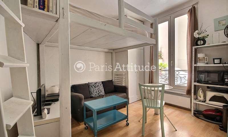 Rent Apartment Studio 15m² rue Charlot, 75003 Paris