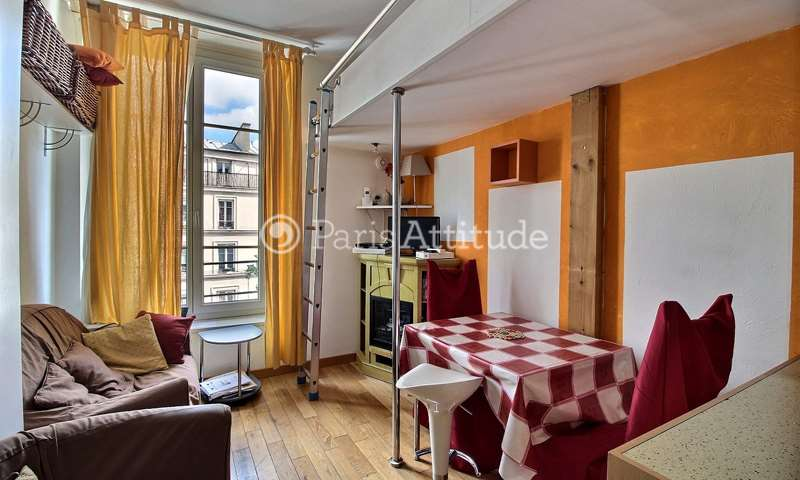 Rent Apartment 1 Bedroom 32m² rue du Faubourg Saint Antoine, 12 Paris