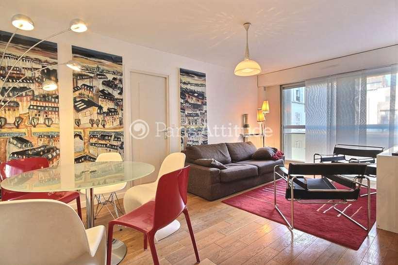 Rent furnished Apartment 2 Bedrooms 62m² boulevard Richard Lenoir, 75011 Paris