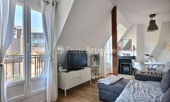 Rent Apartment 1 Bedroom 32m² rue Pergolese, 16 Paris