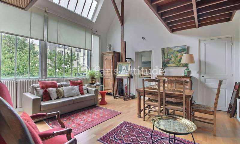 Rent Loft 2 Bedrooms 75m² rue de la Tombe Issoire, 14 Paris