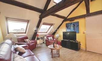 Rent Apartment 2 Bedrooms 93m² Place Gustave Toudouze, 9 Paris