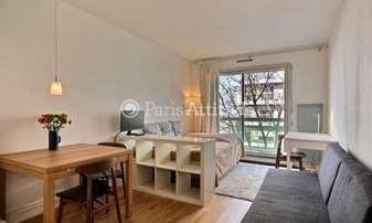 Rent Apartment Studio 21m² rue Dranem, 11 Paris