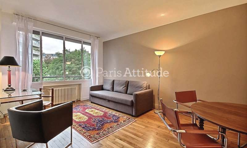 Rent Apartment 1 Bedroom 40m² rue Degas, 16 Paris