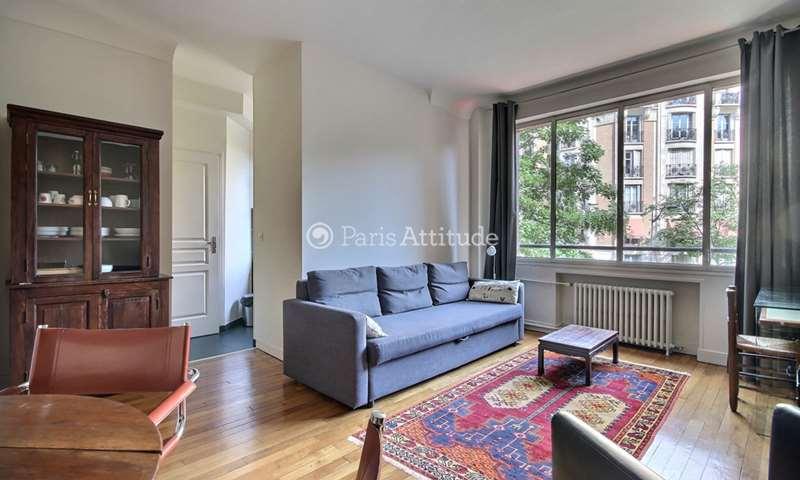 Rent Apartment 1 Bedroom 40m² rue Degas, 75016 Paris
