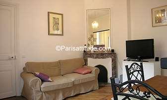 Rent Apartment 1 Bedroom 42m² rue de Monceau, 8 Paris