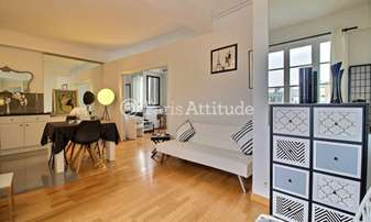 Rent Apartment 1 Bedroom 50m² rue Boissiere, 16 Paris