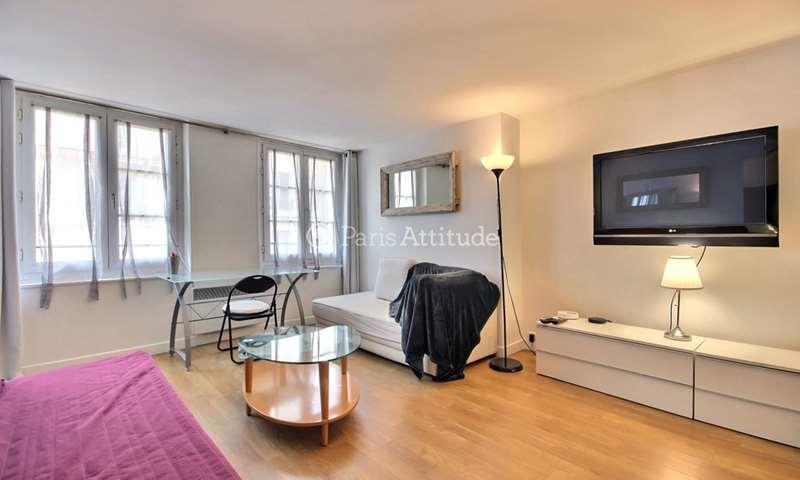 Location Appartement Studio 27m² rue du Cherche Midi, 6 Paris