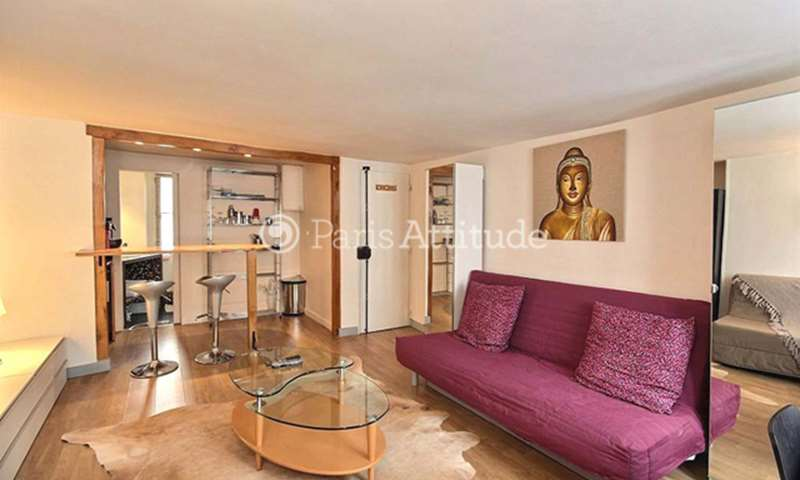 Rent Apartment Studio 27m² rue du Cherche Midi, 75006 Paris