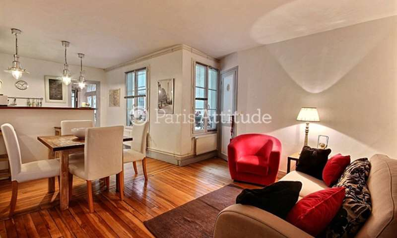 Rent Apartment 1 Bedroom 42m² rue Jean Beausire, 75004 Paris