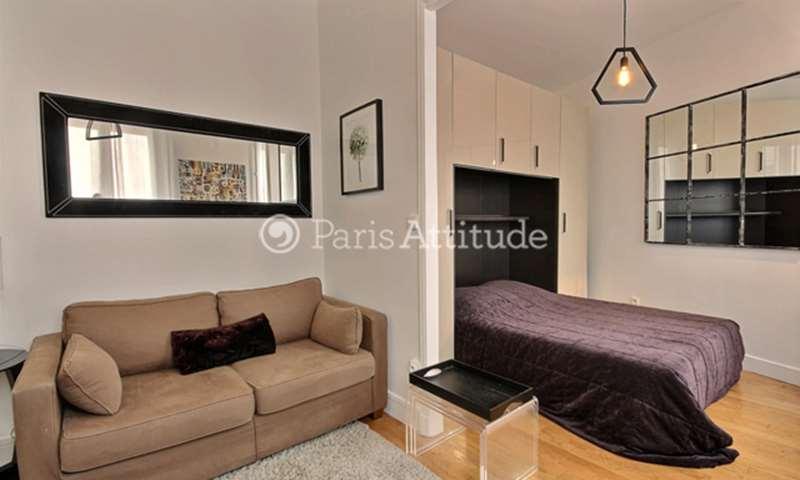 Location Appartement Alcove Studio 25m² rue Pache, 75011 Paris