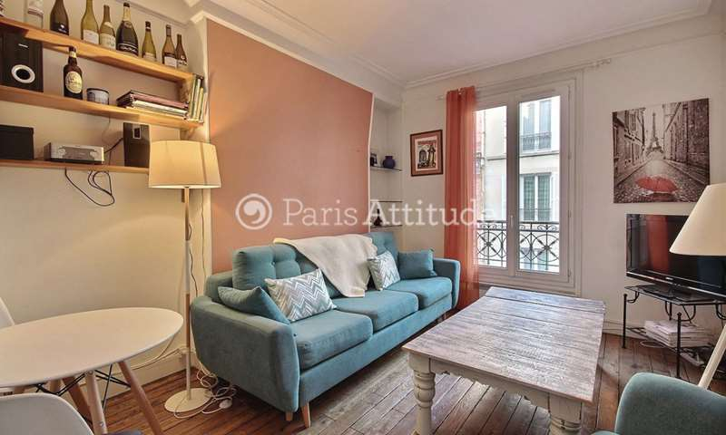 Rent Apartment 1 Bedroom 40m² rue Furtado Heine, 14 Paris