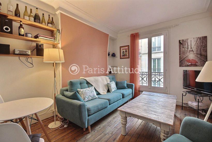Rent furnished Apartment 1 Bedroom 40m² rue Furtado Heine, 75014 Paris