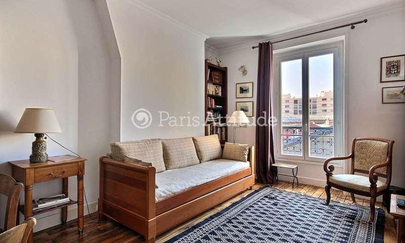 Rent Apartment 1 Bedroom 43m² rue de la Croix Nivert, 15 Paris