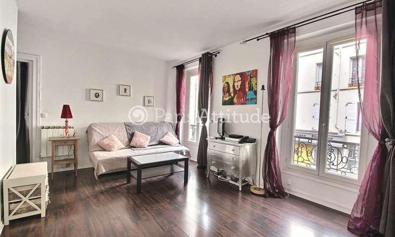 Location Appartement Studio 24m² rue Berzelius, 17 Paris