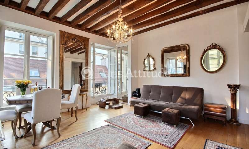 Rent Apartment 1 Bedroom 46m² rue Monsieur Le Prince, 75006 Paris