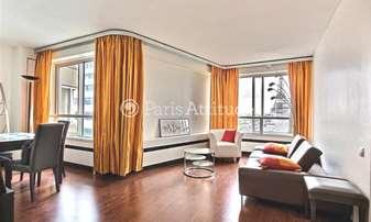 Rent Apartment 1 Bedroom 56m² quai de Grenelle, 15 Paris