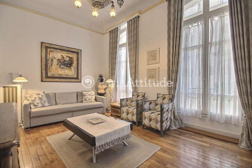 Rent furnished Apartment 1 Bedroom 72m² rue Saint Roch, 75001 Paris