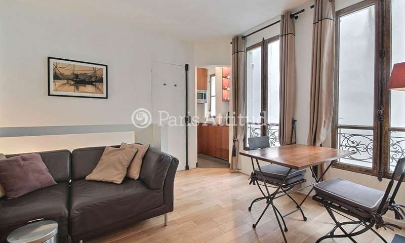 Rent Duplex 1 Bedroom 32m² rue de Seine, 75006 Paris