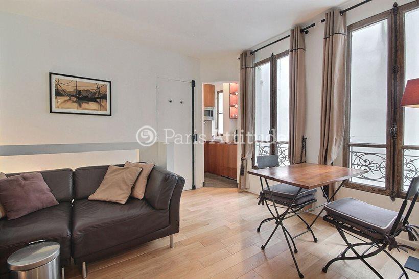 Rent furnished Duplex 1 Bedroom 32m² rue de Seine, 75006 Paris