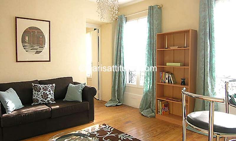 Rent Apartment 1 Bedroom 36m² rue Keller, 75011 Paris