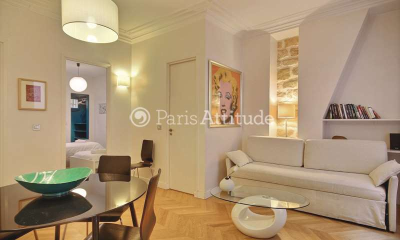 Rent Apartment 2 Bedroom 52m² rue du Temple, 75003 Paris