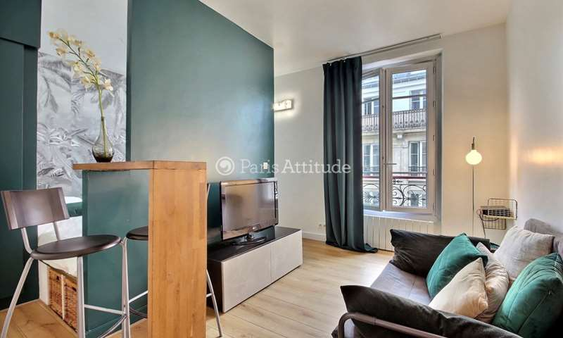 Rent Apartment Alcove Studio 30m² rue du Chemin Vert, 11 Paris