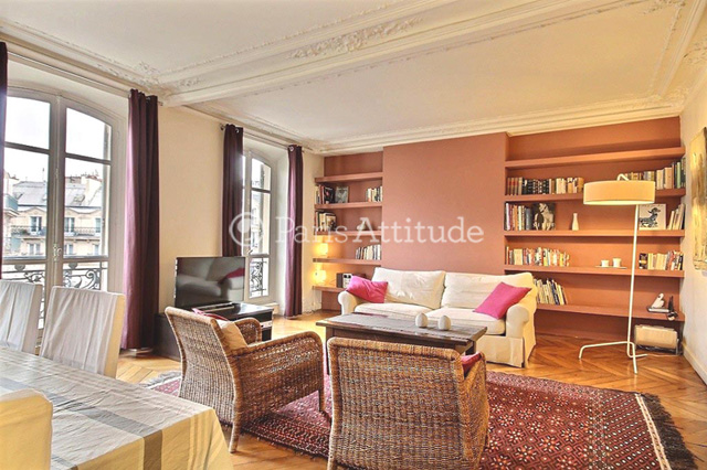 Rent Paris  Apartment 2 Bedroom 98 m² Montorgueil - boulevard de Sebastopol 75002 Paris