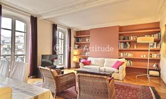 Rent Apartment 2 Bedrooms 98m² boulevard de Sebastopol, 2 Paris