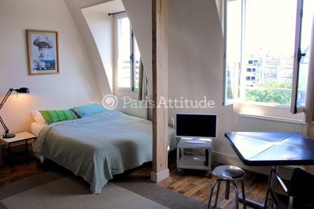 Location Appartement Studio 22m² Place Henri Bergson, 75008 Paris