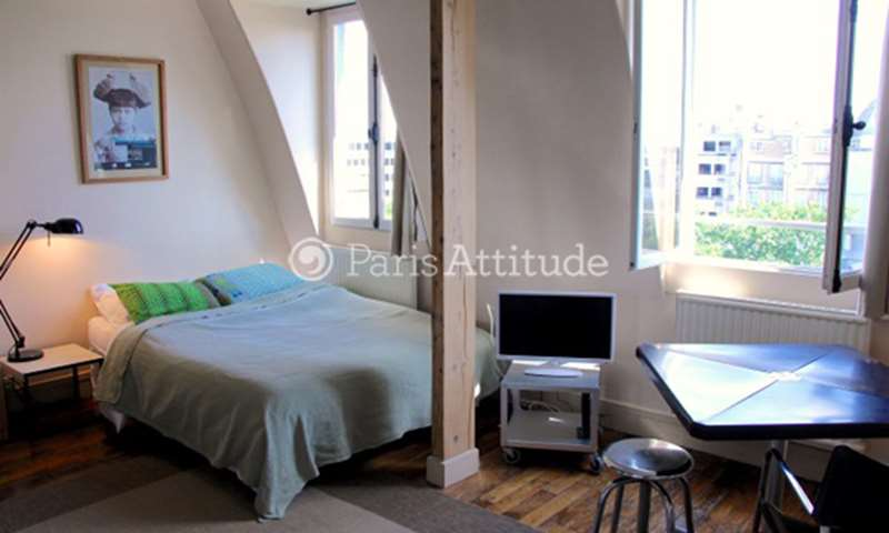 Rent Apartment Studio 22m² Place Henri Bergson, 8 Paris