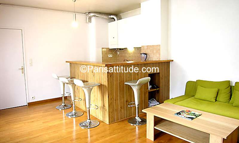 Rent Apartment 1 Bedroom 37m² rue du Foin, 75003 Paris