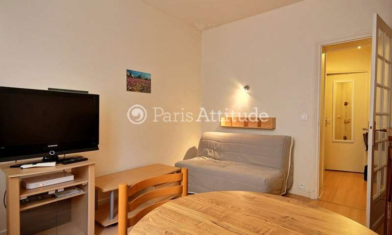 Rent Apartment 1 Bedroom 28m² rue de Vouille, 15 Paris