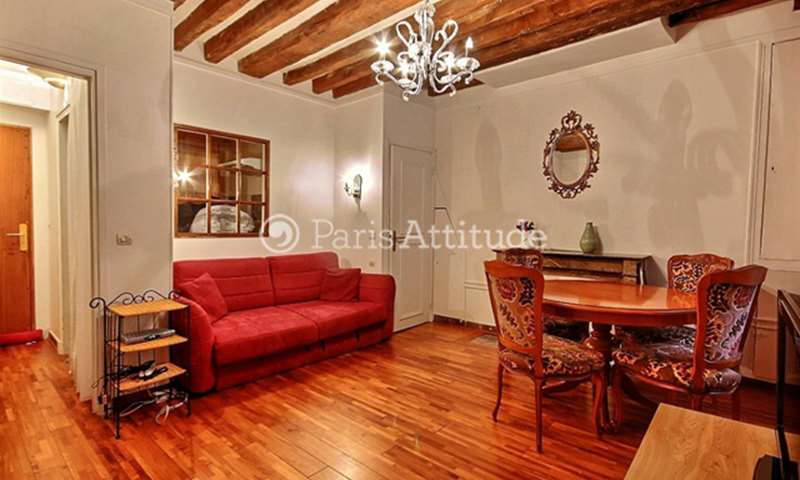 Rent Apartment Studio 25m² rue Pierre Lescot, 75001 Paris