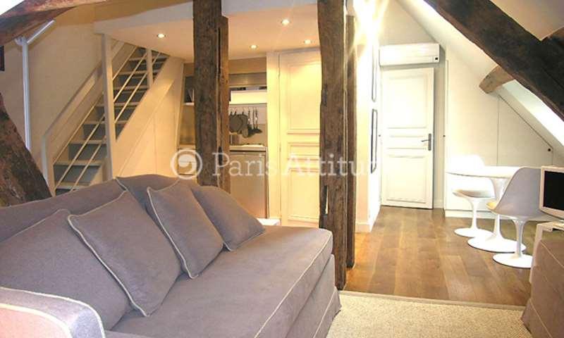 Rent Duplex 2 Bedroom 40m² rue du Louvre, 75001 Paris