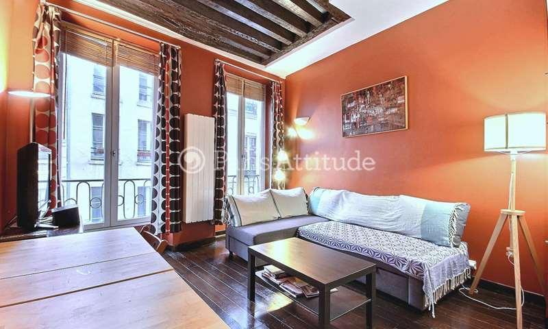 Rent Apartment Studio 23m² rue Volta, 3 Paris