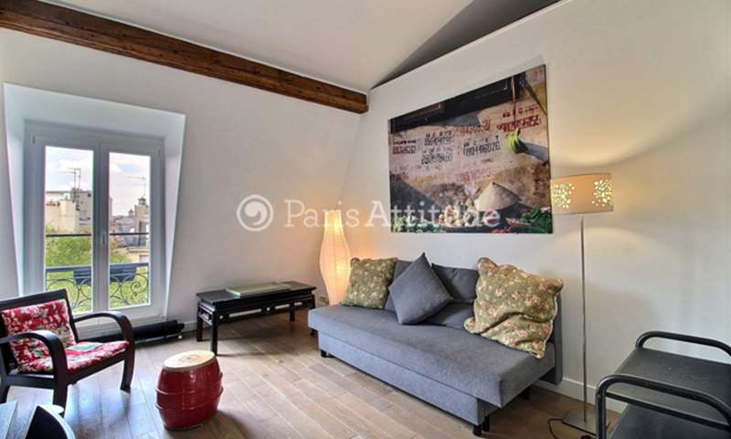 Rent Apartment 1 Bedroom 37m² boulevard Saint Germain, 75005 Paris