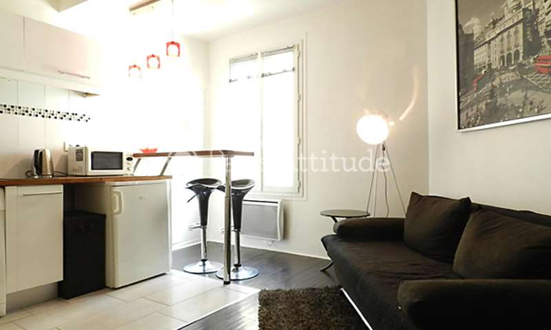 Rent Apartment 1 Bedroom 27m² rue du Chemin Vert, 75011 Paris