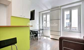Rent Townhouse 1 Bedroom 40m² rue Trebois, 92300 Levallois Perret